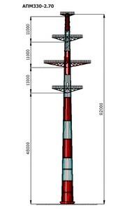 Анкерная переходная опора АПМ330-2.70