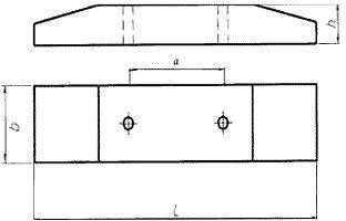 1898090 Ригели железобетонные многоэтажных зданий