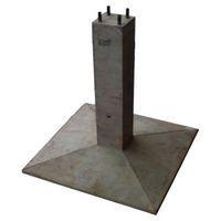 Фундаменты металлических опор ВЛ проект 13478тм
