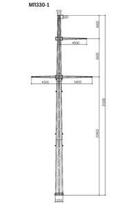 Промежуточная опора МП330-1