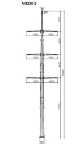 Промежуточная опора МП330-2