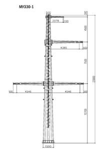 Угловая опора МУ330-1