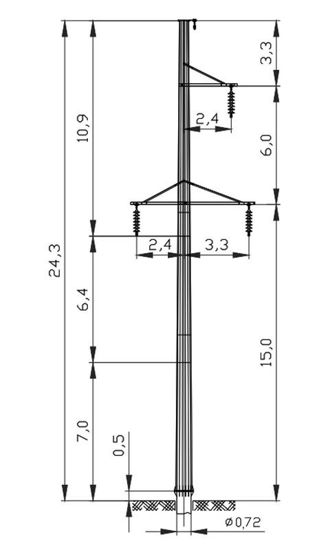 Открытые распределительные устройства напряжением 110 кВ