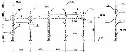 Портал ячейковый ПСЛ-110 Я8С