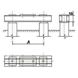 Свайные фундаменты опор ЛЭПР2-25-16-2