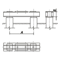 Свайные фундаменты опор ЛЭП Р2-25-16-2