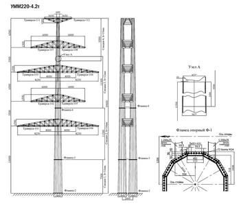 Угловая опора УММ220-4.2Т